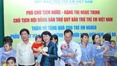 Quỹ Bảo trợ trẻ em Việt Nam đã có nhiều chương  trình ý nghĩa với trẻ em có hoàn cảnh khó khăn