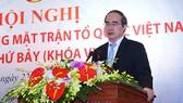 Đồng chí Nguyễn Thiện Nhân phát biểu