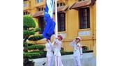 Thượng cờ kỷ niệm 50 năm thành lập ASEAN