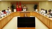 Ra mắt Ban Chỉ đạo Đổi mới và phát triển kinh tế tập thể, HTX. Ảnh: VGP