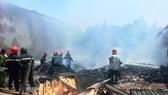 Vụ cháy nhà dân tại đường 10A, phường Bình Hưng Hòa B, quận Bình Tân, TPHCM