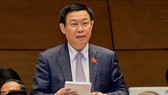 Phó Thủ tướng Vương Đình Huệ trả lời chất vấn ĐBQH tại kỳ họp thứ 5