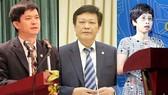 Từ trái qua: Ông Lê Quang Tùng, ông Nguyễn Duy Thăng và bà Nguyễn Thị Phú Hà. Ảnh: VGP News