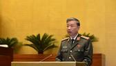 Bộ trưởng Tô Lâm trình bày Tờ trình vào chiều 29-10
