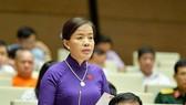 ĐB Nguyễn Thị Kim Thúy (Đà Nẵng). Ảnh: QUOCHOI