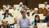 ĐB Trương Trọng Nghĩa (TPHCM) phát biểu tại phiên họp chiều 1-11