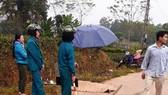 Hiện trường vụ thảm sát làm 5 người chết tại Thái Nguyên