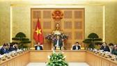 Thường trực Chính phủ họp ngày 27-2. Ảnh:  VGP