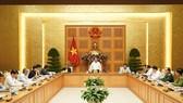 Quang cảnh cuộc họp Thường trực Chính phủ ngày 9-3
