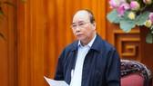 Thủ tướng Nguyễn Xuân Phúc chỉ đạo về phòng chống dịch Covid-19