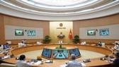 Thủ tướng Nguyễn Xuân Phúc chủ trì cuộc họp Ban Chỉ đạo điều hành giá. Ảnh: VIẾT CHUNG