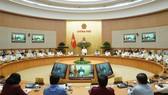 Chính phủ họp ngày 2-6. Ảnh: QUANG PHÚC