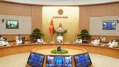 Chính phủ họp phiên thường kỳ tháng 8-2020. Ảnh: QUANG PHÚC