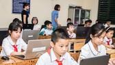 Học sinh thi Đấu trường Toán học VioEdu