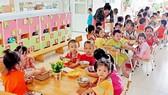 Một lớp học dành cho con công nhân tại Trường Mầm non Khu chế xuất Tân Thuận, TPHCM