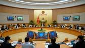 Chính phủ họp phiên thường kỳ tháng 10-2020