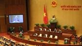 Quốc hội chiều 17-11. Ảnh: QUANG PHÚC