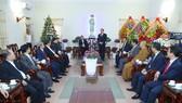 Đoàn đại biểu Ủy ban Trung ương MTTQ Việt Nam chúc mừng Giáng sinh 2020
