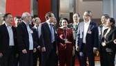 Đoàn đại biểu TPHCM tại Đại hội XIII của Đảng. Ảnh: VIẾT CHUNG
