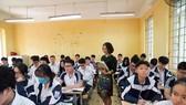 Học sinh có thể chọn học tiếng Đức, tiếng Hàn là môn Ngoại ngữ 1. ẢNH: VIẾT CHUNG