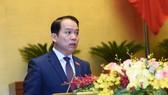 Chủ nhiệm Ủy ban Pháp luật của Quốc hội Hoàng Thanh Tùng. ẢNH: QUANG PHÚC