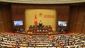 Kỳ họp 11, Quốc hội khóa XIV. Ảnh: VIẾT CHUNG