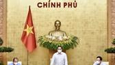 Thủ tướng Phạm Minh Chính chủ trì phiên họp Chính phủ thường kỳ, ngày 5-5. Ảnh: VIẾT CHUNG
