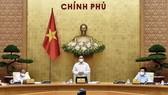 Thủ tướng Chính phủ Phạm Minh Chính chủ trì họp Chính phủ. Ảnh: VIẾT CHUNG