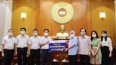 Ủy ban Trung ương MTTQ Việt Nam tiếp nhận ủng hộ từ các tổ chức, cá nhân cho công tác phòng, chống dịch Covid-19