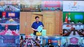 Bộ trưởng Bộ Y tế Nguyễn Thanh Long. Ảnh: VIẾT CHUNG