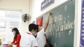 Học sinh cả nước chuẩn bị bước vào năm học mới. ẢNH: QUANG PHÚC