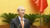 Chủ nhiệm Ủy ban Tài chính, Ngân sách Nguyễn Phú Cường. Ảnh: VIẾT CHUNG