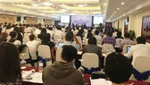 Các chuyên gia, doanh nghiệp, khách mời... dự hội thảo ngày 24-10 do VIAC tổ chức.