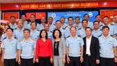 Các đại biểu dự Hội nghị Tổng kết năm 2020, phương hướng, giải pháp thực hiện nhiệm vụ năm 2021 của Cục Hải quan TPHCM. Ảnh: VIỆT DŨNG