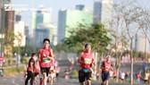 Các vận động viên tham dự đường đua 11-4