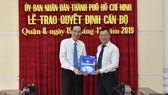 Ông Phạm Quang Tú làm Phó Chủ tịch UBND quận 8