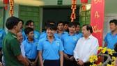 Đoàn lãnh đạo TPHCM chúc tết các cơ sở cai nghiện ma túy