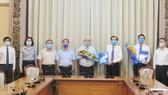 Chủ tịch UBND quận 3 nhận công tác tại Thành ủy TPHCM