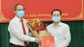 Đồng chí Nguyễn Văn Hiếu giữ chức vụ Bí thư Quận ủy quận 5