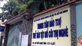 Trung tâm Bảo trợ trẻ tàn tật mồ côi Thị Nghè (thuộc Sở LĐTB-XH TPHCM). Ảnh: T.N.