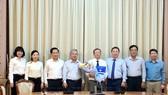 Ông Võ Phan Lê Nguyễn giữ chức vụ Phó Chủ tịch UBND huyện Nhà Bè