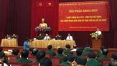 Đồng chí Trần Lưu Quang phát biểu khai mạc Hội thảo khoa học. Ảnh: VGP/Băng Tâm