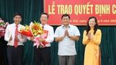 Đồng chí Nguyễn Văn Hồng làm Phó Bí thư Huyện ủy Cần Giờ
