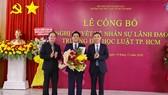 PGS.TS Trần Hoàng Hải làm Quyền Hiệu trưởng Trường Đại học Luật TPHCM