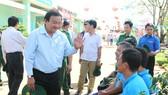 Giám đốc Sở LĐTB-XH TPHCM Lê Minh Tấn thăm, chúc tết cơ sở cai nghiện ma túy