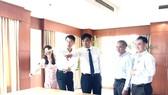 Phó Chủ tịch UBND TPHCM Lê Hòa Bình thăm, chúc tết các cơ quan, đơn vị