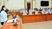 Chủ tịch HĐND TPHCM Nguyễn Thị Lệ: Cần chú ý đến biến động dân số khi lập danh sách cử tri