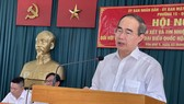 100% cử tri dự hội nghị đồng ý giới thiệu đồng chí Nguyễn Thiện Nhân ứng cử đại biểu Quốc hội khóa XV, nhiệm kỳ 2021-2026