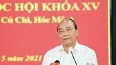 Chủ tịch nước Nguyễn Xuân Phúc: Thúc đẩy giải quyết kiến nghị của cử tri đến nơi đến chốn