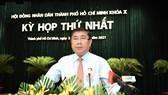 Đồng chí Nguyễn Thành Phong tái đắc cử Chủ tịch UBND TPHCM